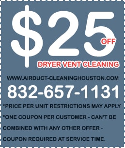 Dryer Vent Cleaning Near Me Coupon